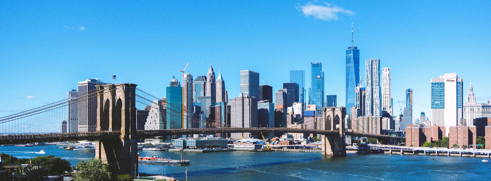 Pont d'une ville Amérique du Nord